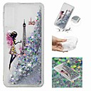 voordelige Galaxy A-serie hoesjes / covers-hoesje Voor Samsung Galaxy A6 (2018) / A6+ (2018) / Galaxy A7(2018) Stromende vloeistof / Transparant / Patroon Achterkant Sexy dame Zacht TPU