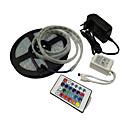 ieftine Benzi Lumină RGB-5m flexibile led lumina benzi 300 leds smd5050 1 x 12v 3a sursa de alimentare rgb decorative 110-240 v / 12 v 1 set