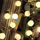 povoljno LED svjetla u traci-5m Žice sa svjetlima 20 LED diode Toplo bijelo Ukrasno 220-240 V 1set