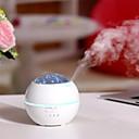 ieftine Ustensile & Gadget-uri de Copt-1pc multi-funcțional de trei-în-un desktop mini umidificator creative cristal de noapte lumina usb aromaterapie masina de umidificare