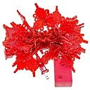 ieftine Fâșii Becurie LED-10m Fâșii de Iluminat 100 LED-uri Roșu Decorativ 220-240 V 1set