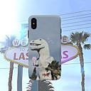 رخيصةأون أغطية أيفون-غطاء من أجل Apple iPhone XS / iPhone XR / iPhone XS Max مثلج غطاء خلفي حيوان ناعم سيليكون