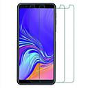 povoljno Maske/futrole za Galaxy A seriju-Samsung GalaxyScreen ProtectorGalaxy A7(2018) Visoka rezolucija (HD) Prednja zaštitna folija 2 kom Kaljeno staklo