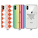 رخيصةأون أغطية أيفون-حالة لتفاح iphone xr / iphone xs max نمط الغطاء الخلفي نمط هندسي لينة tpu آيفون 6 6 زائد 6 ثانية 6 ثانية زائد 7 8 7 زائد 8 زائد x xs