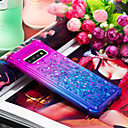 رخيصةأون حافظات / جرابات هواتف جالكسي S-غطاء من أجل Samsung Galaxy S9 / S9 Plus / S8 Plus ضد الصدمات / سائل متدفق غطاء خلفي لون متغاير ناعم TPU