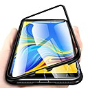 povoljno Samsung oprema-magnetska futrola za samsung galaxy note 10 plus / m10 (2019) / j6 plus 360 stupnjeva jednostrano kaljeno staklo metalni telefon folije pokriva magnetne futrole za samsung m20 / m30 / note 9 / note 8