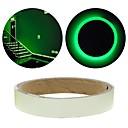 povoljno Soldering Iron & Accessories-zeleni fluorescentni naljepnica noć svjetlosna traka trake decal ukras za stepenice vrata moto auto svjetlosne trake reflektirajuća