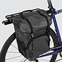 رخيصةأون جسم السيارة الديكور والحماية-ROSWHEEL 15 L حقائب دراجات جانبية معلقة سعة كبيرة مقاوم للماء مضاعف حقيبة الدراجة قماش 300D بوليستر حقيبة الدراجة حقيبة الدراجة أخضر دراجة الطريق دراجة جبلية الخارج