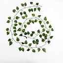 رخيصةأون أزهار اصطناعية-زهور اصطناعية 12 فرع معلقة على الحائط معلق النمط الرعوي نباتات أزهار الحائط