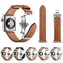 povoljno Apple Watch remeni-Pogledajte Band za Apple Watch Series 5/4/3/2/1 Apple Leptir Buckle Prava koža Traka za ruku