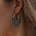 povoljno Naušnice-Žene Naušnica Naušnice Jewelry Zlato / Pink Za Stage Jabuka 1 par