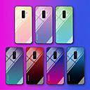 رخيصةأون حافظات / جرابات هواتف جالكسي A-غطاء من أجل Samsung Galaxy A6 (2018) / A6+ (2018) / Galaxy A7(2018) نموذج غطاء خلفي جملة / كلمة / لون متغاير ناعم زجاج مقوى