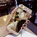 povoljno iPhone maske-Θήκη Za Samsung Galaxy S9 / S9 Plus / S8 Plus Štras / sa stalkom Stražnja maska Šljokice Tvrdo Opeka