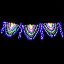 povoljno LED svjetla u traci-4m Žice sa svjetlima 420 LED diode RGB + Bijela Vodootporno / Kreativan / Party 220-240 V 1set