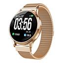 economico Home Fragrances-mk08 smartwatch supporto per tracker fitness in acciaio inossidabile bt notifica smartwatch tondo ultrasottile per telefoni samsung / iphone / android