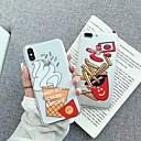 ieftine Brățări-Maska Pentru Apple iPhone XS / iPhone XR / iPhone XS Max Transparent / Model Capac Spate Transparent / Desene Animate Moale TPU / PC