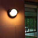 ieftine Abajure Perete-ONDENN Rezistent la apă / Model nou LED / Modern contemporan Becuri de perete Interior / Exterior Aluminiu Lumina de perete IP 68 85-265V 10 W