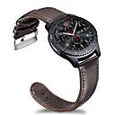 رخيصةأون أقراط-حزام إلى Gear S3 Frontier / Gear S3 Classic / Samsung Galaxy Watch 46 Samsung Galaxy عصابة الرياضة ستانلس ستيل / جلد شريط المعصم