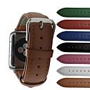 voordelige iPhone 6 hoesjes-Horlogeband voor Apple Watch Series 5/4/3/2/1 Apple Moderne gesp Echt leer Polsband