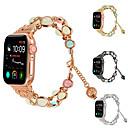 رخيصةأون أساور ساعات هواتف أبل-حزام إلى أبل ووتش سلسلة 5/4/3/2/1 / Apple Watch Series 4 Apple تصميم المجوهرات خزفي شريط المعصم