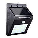povoljno Osobna zaštita-1pc 4 W Solarna zidna svjetlost Monitor za otkrivanje pokreta Hladno bijelo 3.7 V Vanjska rasvjeta / Dvorište / Vrt 12 LED zrnca