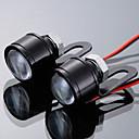 رخيصةأون المصابيح الأمامية للسيارات-2pcs دراجة نارية لمبات الضوء LED ضوء النهار من أجل دراجات نارية جميع الموديلات كل السنوات