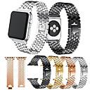 voordelige Apple Watch-bandjes-Horlogeband voor Apple Watch Series 4/3/2/1 Apple Moderne gesp Metaal Polsband