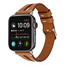 voordelige Galaxy A8 Hoesjes / covers-voor apple horlogeband 40mm / 44mm / 38mm / 42mm v-vormige lederen band pols horlogeband voor iwatch serie 4/3 2/1 bands
