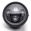 povoljno Auto prednja svjetla-univerzalni motor 12v vodio metalna prednja svjetla projektor svjetlo refit skupštine