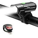 رخيصةأون اضواء الدراجة-LED اضواء الدراجة طقم مصابيح دراجة قابل لإعادة الشحن ضوء الدراجة الخلفي أضواء السلامة XP-G2 دراجة جبلية الدراجة ركوب الدراجة ضد الماء وسائط متعددة سطوع رائع محمول li-بوليمر 350 lm USB / سريع الإصدار