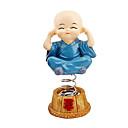 povoljno Auto Body Decoration & Zaštita-4pcs / set proljeće slatka crtani malo monk lutka ukras auto nadzorna ploča trese glavu ukras
