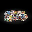 رخيصةأون جسم السيارة الديكور والحماية-ملصقات السيارات الشارات حزمة 50 قطعة ملصقات الوفير أنماط عشوائية