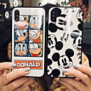 voordelige iPhone 7 hoesjes-hoesje Voor Apple iPhone XS / iPhone XR / iPhone XS Max Patroon Achterkant Cartoon Hard Gehard glas