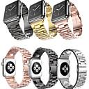 voordelige Galaxy Note-serie hoesjes / covers-metalen roestvrijstalen polsbandje polsband horlogebandje voor apple horloge serie 1/2/3/4 38mm 40mm 42mm 44mm