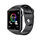 رخيصةأون ساعات ذكية-a1s ساعة اليد بلوتوث الذكية ووتش الرياضة عداد الخطى مع كاميرا sim smartwatch