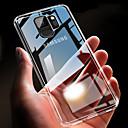 tanie Folie ochronne do Samsunga-Kılıf Na Samsung Galaxy S9 / S9 Plus / S8 Plus Ultra cienkie / Transparentny Osłona tylna Solidne kolory Miękka TPU