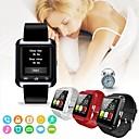 voordelige Galaxy S-serie hoesjes / covers-u8 smartwatch klok sync melder ondersteuning bluetooth-connectiviteit voor iphone ios android telefoon sport slimme horloges