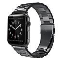 voordelige Apple Watch-bandjes-Horlogeband voor Apple Watch Series 4 Apple Moderne gesp Roestvrij staal Polsband