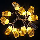 povoljno LED svjetla u traci-3m niz svjetla pivo u obliku 20 leds toplo bijelo pivo festival bar klub praznik ukrasne 5 v 1 set