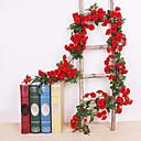 رخيصةأون أزهار اصطناعية-زهور اصطناعية 1 فرع كلاسيكي معلقة على الحائط تقليدي الزفاف الورود الزهور الخالدة أزهار الحائط