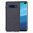 voordelige Galaxy S7 Hoesjes / covers-hoesje Voor Samsung Galaxy S9 / S9 Plus / S8 Plus Schokbestendig Achterkant Effen Zacht Kangas