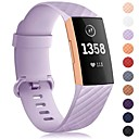 voordelige iPhone-hoesjes-Horlogeband voor Fitbit Charge 3 Fitbit Sportband Silicone Polsband