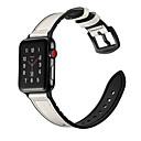 povoljno iPhone maske-Pogledajte Band za Apple Watch Series 5/4/3/2/1 Apple Sportski remen Silikon / Prava koža Traka za ruku
