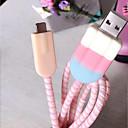 voordelige iPhone-hoesjes-mooie ijslaadkabelbeschermer voor iphone x 5/6/7 / 8plus