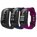 voordelige iPhone 6s / 6 screenprotectors-s908s smart watch waterproof kleurenscherm smart wristband activity fitness tracker sport gps hartslagmeter slimme armband