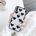 povoljno iPhone maske-Θήκη Za Apple iPhone XS / iPhone XR / iPhone XS Max Prozirno Stražnja maska Srce Mekano TPU