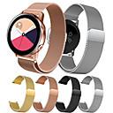 povoljno Maske/futrole za Huawei-Pogledajte Band za Gear S2 / Samsung Galaxy Watch 42 / Samsung Galaxy Active Samsung Galaxy Preklopna metalna narukvica Nehrđajući čelik Traka za ruku