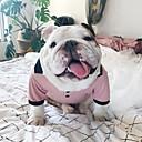 ieftine Jucării Câini-Pisici Câine Rochii Îmbrăcăminte Câini Respirabil Roz Costume Bumbac Tiare & Coroane Modă XS S M L