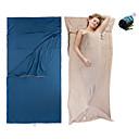 ieftine Becuri Solare LED-Sac de dormit Liner În aer liber Sac de Dormit Dreptunghiular +15 °C Single Bumbac Portabil Respirabil Cald Ultra Ușor (UL) Comfortabil Skin Friendly 210*100 cm Primăvară Vară Toamnă pentru Plaj