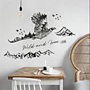 رخيصةأون ملصقات ديكور-لواصق حائط مزخرفة - لواصق حائط الطائرة حيوانات غرفة النوم / داخلي